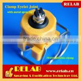 20570 Plastic Swivel Joint Full Cone Clamp on Nozzle