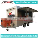 Mobile Used Food catering trailers, Fast Food concession trailer/towable food trailers for sale
