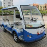 Park elegant 8 seaters electric tourism bus amusement electric school car