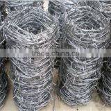 Barbed wire mesh ( PVC & Galvanized )