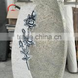 Wholesale Natural Kashmir Gold Granite Headstone
