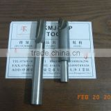high performance Long blade cleaning bottom straight router bit, cnc woodworking endnmills
