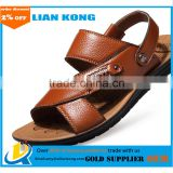 Wholesale Top selling summer comfortable Non-slip Leather Casual Sandals for men
