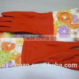 Latex household glove/kitchen glove/safety work gloves