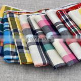 Men's suit and tie pocket towel with Cotton Handkerchief