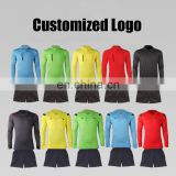 New design soccer referee jersey long sleeve referee shirt uniform