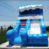 commercial inflatable slide,inflatables, PVC water slide WS006