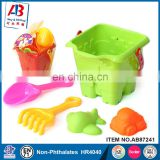 New Plastic sand bucket and shovel toys for toddlers