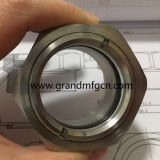 high pressure sanitary BHO closed loop oil extracto kits stainless steel 316 peep sight glass male M18 M27 M36x1.5