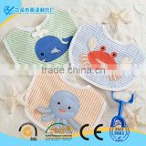 """Beach Buddies"" 3-Piece Bib Gift Set baby boy bibs                                                                         Quality Choice"