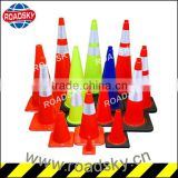 Colored PVC Flexible Cone Traffic