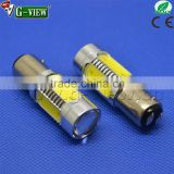 BA15S BA15D hotsale Car accessories led light for car 1156 1157 6W 7.5W COB auto led bulb light