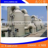 Green System Smoke Scrubber Waste Tire Pyrolysis Carbon Black Scrubber Tower Refining Machine
