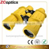 cheap price 7x50 German Classical yellow rubber green coated for military with boat binoculars