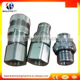2016 barnett Hydraulic quick connect coupler-ball valved/steel pneumatic quick coupling with valve