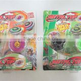 Special children's toys, colorful burst gyro gyroscope + alloy Colorful lights dazzle Battle Shines the top toys