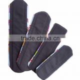 Wholesale AnAnbaby Menstrual Pad Cloth Charcoal Bamboo Sanitary Pads