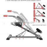 best selling back stretching muscle exercise Chair/popular commercial roman chair