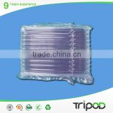 plastic air column bags,air packaging bags for DVD,shock resistance ldpe plastic air bag