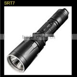 tactical flashlight NiteCore srt7 CREE XM-L2 T6 LED flashlight 18650 rechargeable flashlight