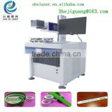China Plastic glass engraving machine/laser co2 engraving machine/ wood acrylic laser engraving machiney