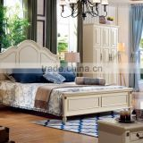 home furniture white Korean bedroom furniture modern bed design