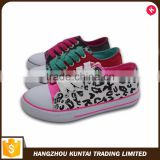 China wholesale custom vulcanized canvas shoes