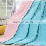 pink/blue/yellow/orang color/disperse dyeing fabric /70GSM/80GSM/90GSM/100%polyester comforter /quilt/trade assurance