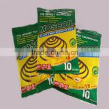 Wuyi MOSCOIL China origin smokeless eco-friendly plant fiber mosquito coil paper mosquito coil