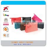 XF-10036 Cheap leather travel cosmetic bag, women toiletry bag, professional cosmetic makeup bag