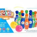 children promotional gift plastic bowling ball toys, ball toys for Wholesale, sports toys for children, EB033996