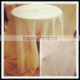 fashion jacquard tablecloth for wedding / comfortable feeling napkins /cheap jacquard banquet tablecloth