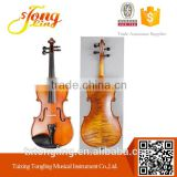 Flamed With Ebony Accessoreis Tongling Music Instruments In Violin TL003-2                                                                         Quality Choice