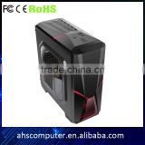 guangzhou factory wholesale new design o.45 strength structure pc case with card reader 1odd 3ssd 3hdd