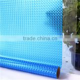 Blue cat eye embossed 3d glass decorative film