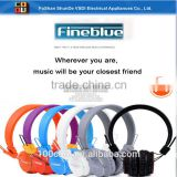 TF card play music wireless headset cheap bluetooth headphone with stereo excellent sound quality