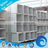 CHINA SUPPLIER OF SQUARE GALVANIZED PIPE SIZE CHART