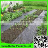 PP woven weed mat /black pp ground cover with uv protection