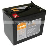rechargeable 12volt battery for cell 12v75ah battery assembly lines