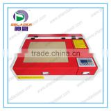 High precision fast speed and popular seller mini 4040 laser engraving machine with chiller