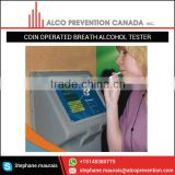 Best Quality Industrial Grade Coin Operated Alcohol Breath Tester for Bulk Buyer