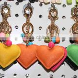 leather heart shaped keychain LZZJ33