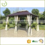 Easy assembling 3X4m outdoor patio used aluminm rome gazebo tent for sale with side wall                                                                         Quality Choice