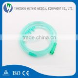 High output medical disposable nasal oxygen cannula