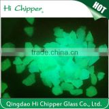 night glow terrazzo glass stones chips