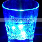 Liquids Sensitived Color Flashing Bar Pub Plastic LED Drink Cup Shot Glasses for Bar Party Events