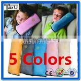Hot sell Cotton Car Seat Belt Shoulder Pad Pillow for Children, Shoulder Protection Cushion sleep pillow