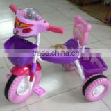 It is 3 wheel bicycle ,baby trike with bright colorful,EV wheels and good looking head shape