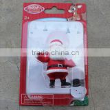 plastic blister pack with paper card for Father Christmas toy
