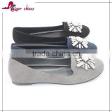 SSK16-230 wholesale women loafer shoes New design flat shoes ladies shoes                                                                                                         Supplier's Choice